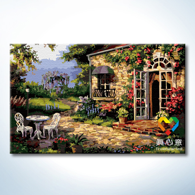 Photo To Canvas Paint By Number
