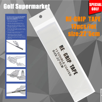Hot Sale 13Pcs/Set Golf Grip Tape Double Sided Golf Club Grips Pre-Cut Golf Rubber Strips Strong Adhesiveness