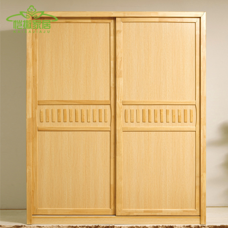 Furniture Wood Wardrobe Closet ~ Nordic rural residential furniture wood wardrobe closet