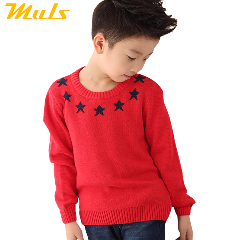 2015 New children's clothing pullovers casual Garment design and the pentagram sweaters boys clothes(China (Mainland))
