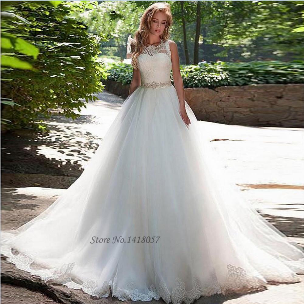 Vestidos de noiva 2016 simple cheap wedding dress elegant for Simple elegant wedding dresses cheap