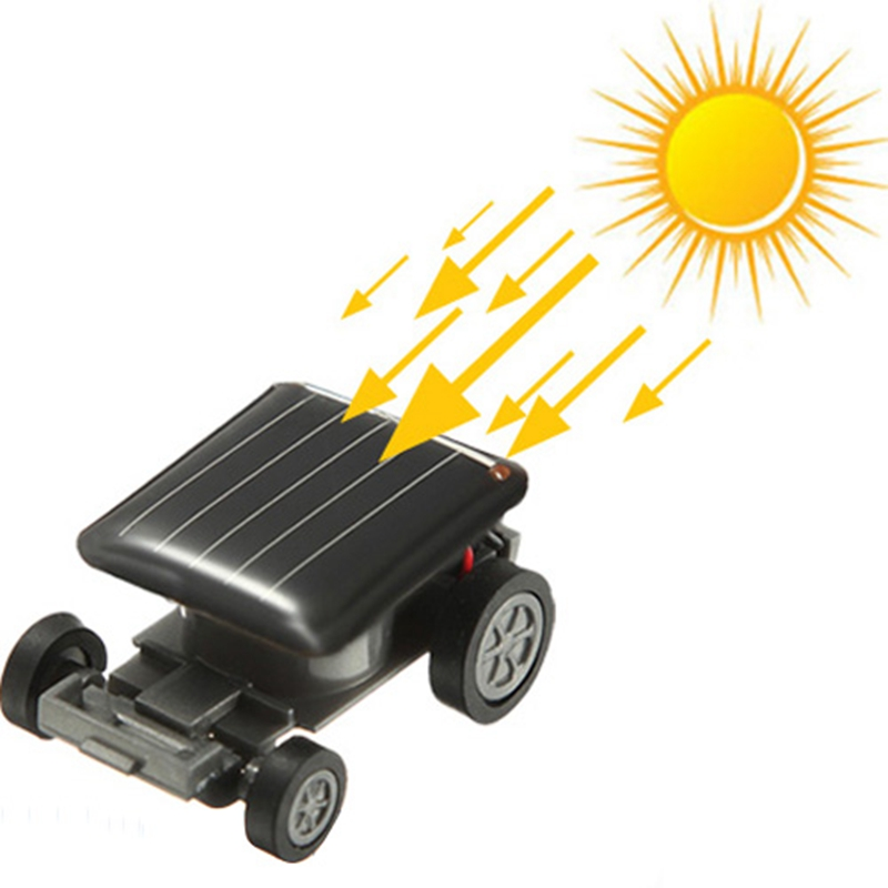 New Mini Sunlight Solar Powered Robet Racing racer Car auto Fun Gadget For Kids Gift New Mini Children Solar Toy Gift Hot Sale(China (Mainland))