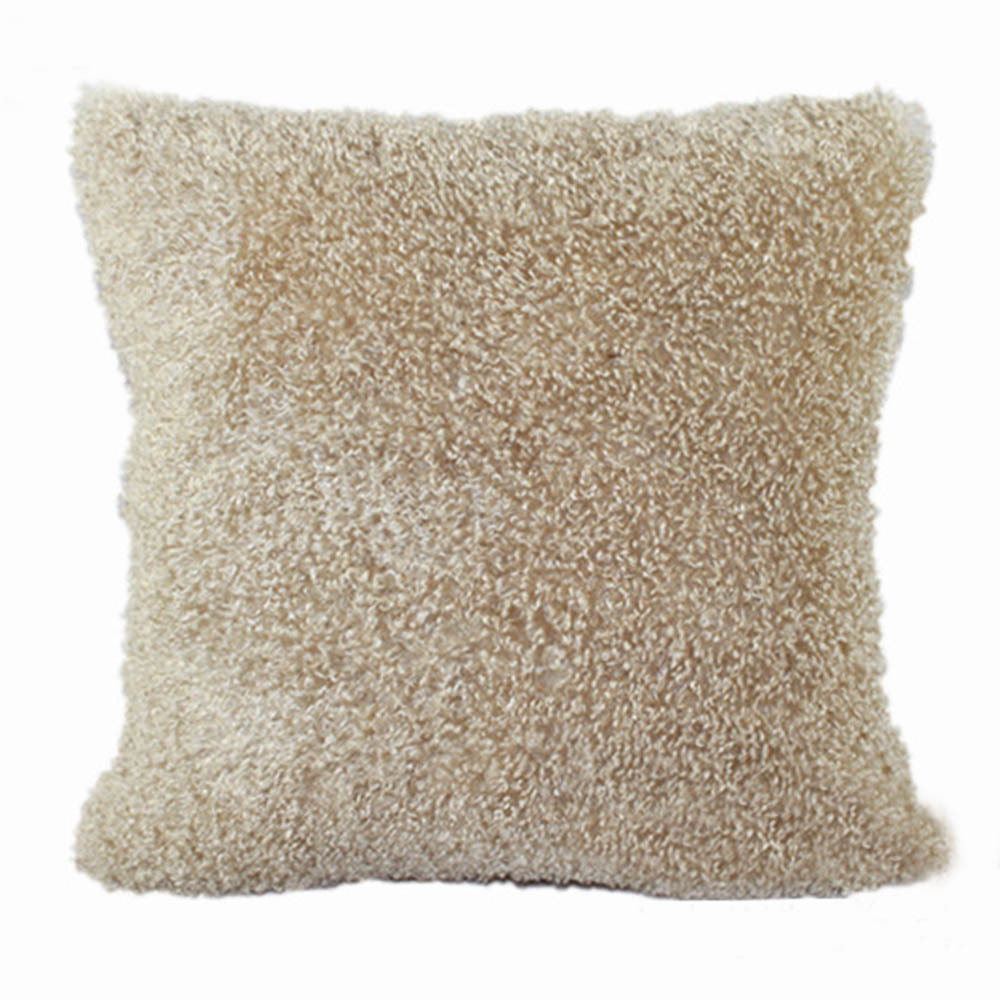 18 x 18 super soft plush faux fur covers pillows shell for Soft bed pillows