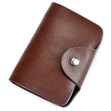 Buy Bank Credit Card Holder Men Women Genuine Leather ID Card Business Card Holder Business Card Case Protector for $3.79 in AliExpress store