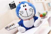 cute small plush doraemon toy lovely cartoon smile doraemon doll birthday gift about 32cm