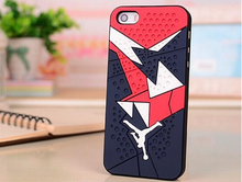 Hot Sale Air Jordan sneakers Sole PVC Rubber Cover For Apple iPhone5 5s Jordan Shoes Jump man Phone Case(China (Mainland))