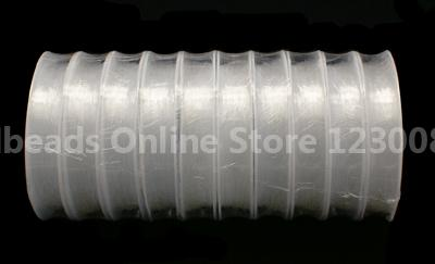 Crystal Thread Clear, Size: about 0.4mm thick, 10m/roll(China (Mainland))