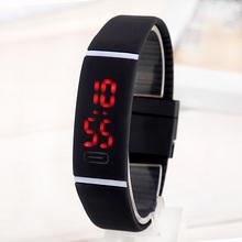 2016 Upgrade Section LED Waterproof Bracelet Children Women Watch Men Digital Wristwatch Sports Shock Fashion Clock Kipasen