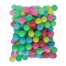 Diamater 4 cm 50 Pcs/ bag deep colorful PP no printing word thick good hardness child game balls ping pong toy decoration balls(China (Mainland))