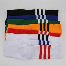 2016 New Fashion Soccer Socks Women or Men Football Stockings Outdoor Sport Striped Socks Worldcup 1 Pairs Retail 6 Colors(China (Mainland))
