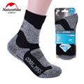 NatureHike 2 pair New Brand Men s Socks Unisex Thermal Warm Winter Cotton Sports Socks Quick