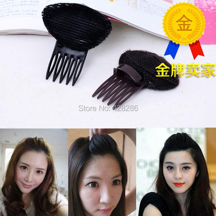 10pcs/lot Wholesale Jewelry Hairdisk MAGIC hair clip Nylon Sponge Bang Hair Comb clip Styling Twist Magic Bun Princess Hair pin'(China (Mainland))