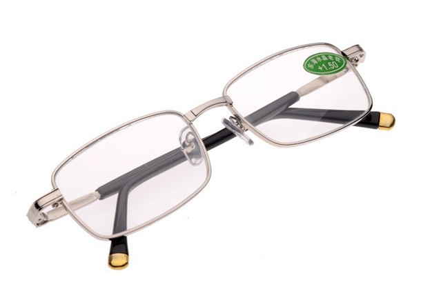 (30 pieces/lot) New design metal reading glasses accept mixed orders(China (Mainland))