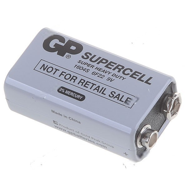 Simba GP Supercell Heavy Duty Battery Dry Cell for 9V Applications Camera Toy Controller HBT-26987(China (Mainland))