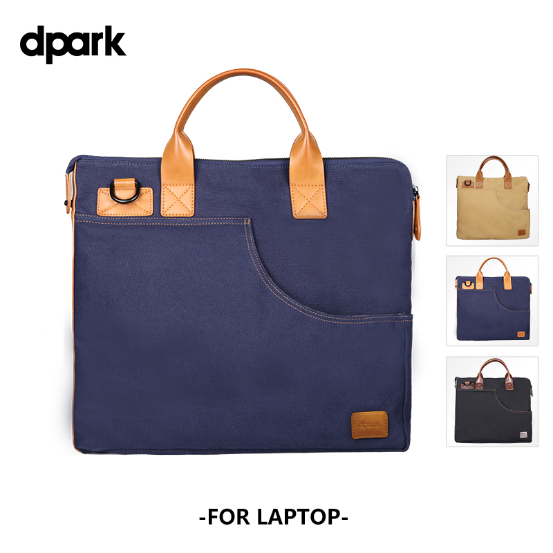 D-park High Quality Oxford Cloth Notebook case laptop bags for 14 inch,shoulder messanger laptop bag for Macbook 13 inch handbag(China (Mainland))
