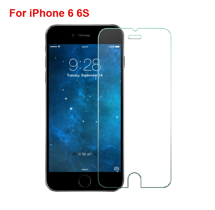 Ultra Thin 0.3mm 2.5D Premium Tempered Glass Screen Protector For iPhone 6 6S HD Toughened Protective Film + Cleaning Kit(China (Mainland))