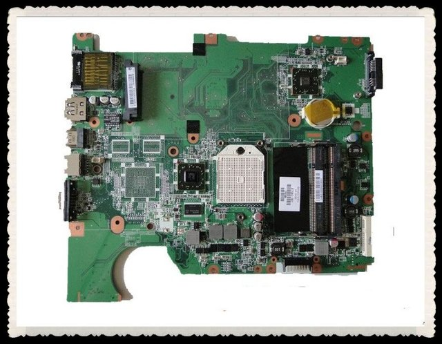 Hot wholesals for Compaq presario CQ61 G61 AMD  laptop motherboard 577065-001 (system board) for HP,  in good conditions