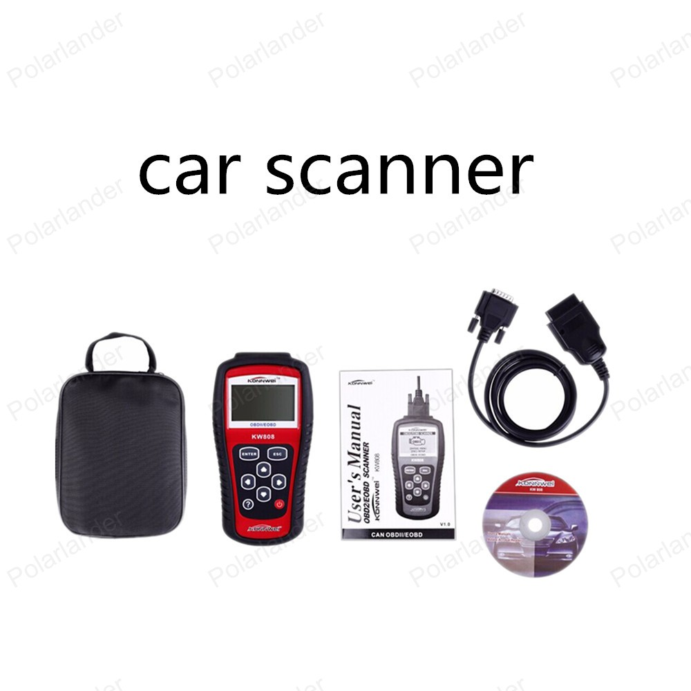 new! MaxiScan MS509 KW808 OBD2/EOBD Auto Code Reader Work For US&Asian&European Car MS509 Automotive Diagnostic Tool(China (Mainland))