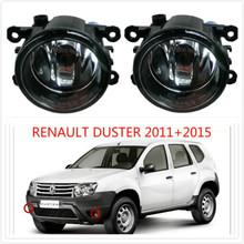 for RENAULT DUSTER 2011/12/13/14/15+Front bumper light Original Fog Lights lamp Halogen car styling1SET.8200074008(China (Mainland))