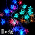 100 Led Starry String Light 10M Fairy star String Light for Holiday Party Christmas Tree New