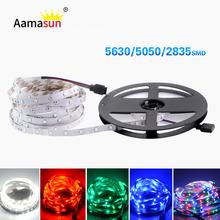 Buy No-waterproof 60LEDs/m 5M Flexible led tape 3014 3528 5050 5630 5730 LED strip light dc12v fita led lamp TV Backlight Wall for $1.79 in AliExpress store