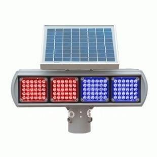 wholesale lots Solar LED Strobe Light Traffic Warning Light UPS Free Shipping