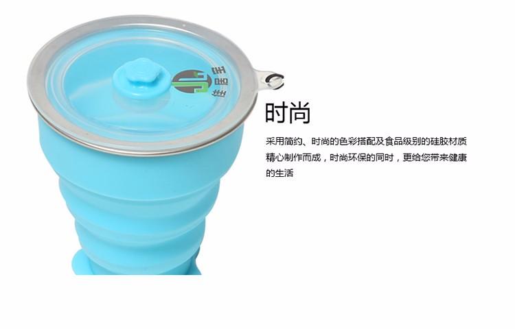 Rubihome 160 мл Сложенном Стакана Воды Бутылки Контейнеры Современный Экологически 11
