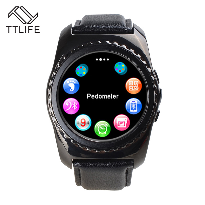 TTLIFE Health Sport Fitness Pedometer Camera Clock Wireless GSM Bluetooth Bracelet Touch Screen Mobile Cell Phone Smart Watch(China (Mainland))