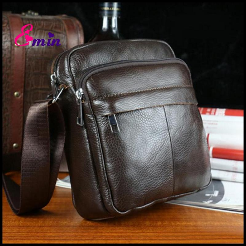 2015 Vintage Style Cowhide Genuine Leather Bag Brand Men Messenger Bag Men Leather Handbags Flap Casual Men's Travel Bags DB5478(China (Mainland))