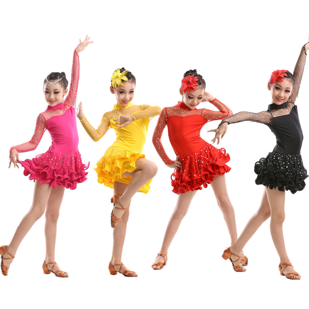 latin dance dresses for girls - photo #38