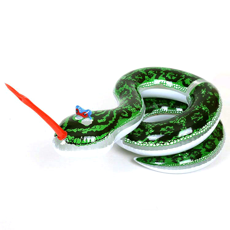 2016 Hot Sale Free Shipping New Large Inflatable Big Snake Market Toy For Children Tricky Toys Halloween Party Decorations(China (Mainland))