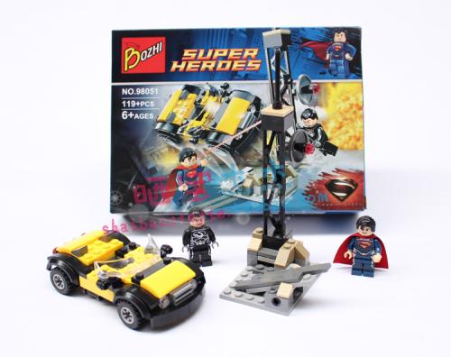 Car Building Block Sets