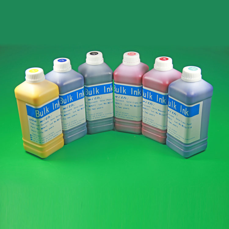 8 Colors x 1 Liter Eco-Solvent Ink For Epson surecolor 4800 7800 9800 printer eco solvent ink(China (Mainland))