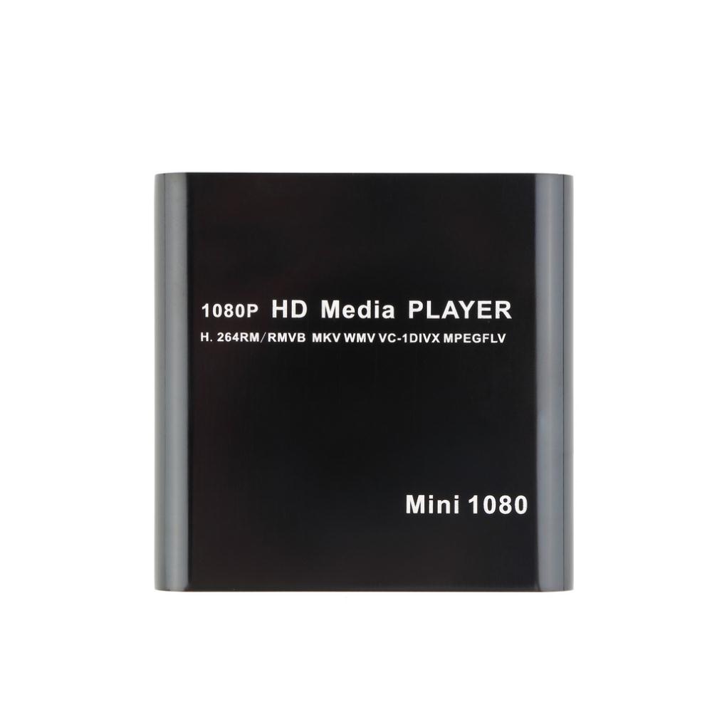 1set 1080P Mini Media Player MKV/H.264/RMVB Full HD with HOST Card Reader Newest(China (Mainland))