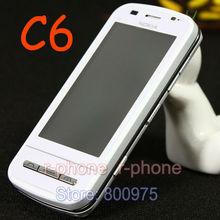 Original NOKIA C6 Mobile Phone C6-00 QWERTY Keyboard Unlocked 3G GSM WIFI GPS 5MP Refurbished Cellphone(China (Mainland))