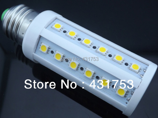 E27  9W 5050 SMD 44 LED Corn Light Bulb Lamp Lighting 110-130V AC CE ROHS -- free shipping
