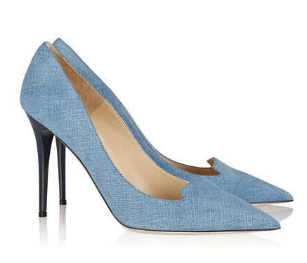 Women Classic Pumps Vintage Women Poined Toe Slip On Court Shoes Stilettos Slim Heel Pumps Canvas Shoes<br><br>Aliexpress