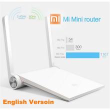 English Version 100% Original Xiaomi Router Mini MI Router Smart Router Dual-band 2.4/5GHz 1167Mbps Wifi English Firmware(China (Mainland))