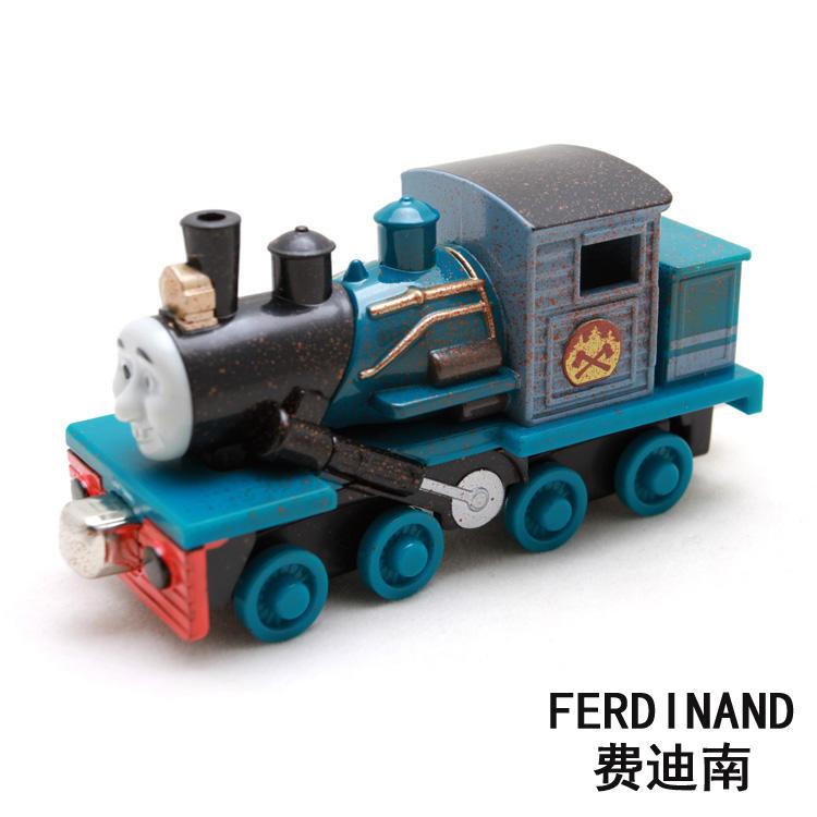 Collect rare model 2016 new blue toy train car Thomas Ferdinand engineering model alloy head(China (Mainland))