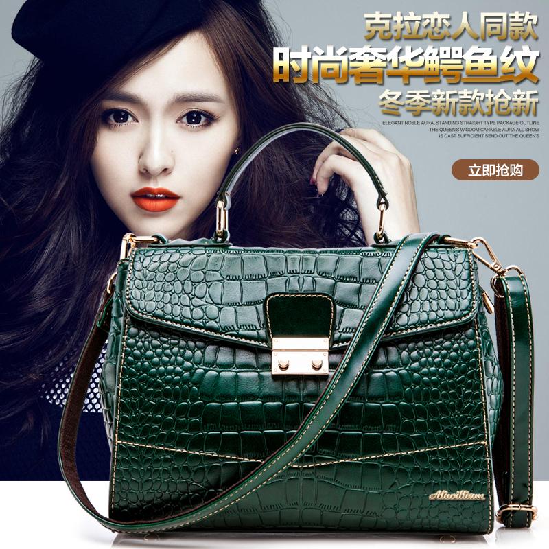 2015 womens girls brand new genuine leather handbags casual messenger shoulder crossbody bags W168<br><br>Aliexpress