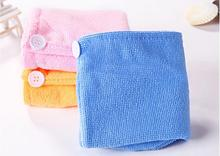 Lady's Magic Hair Drying Towel/Hat/Cap Quick Dry Bath//8668(China (Mainland))
