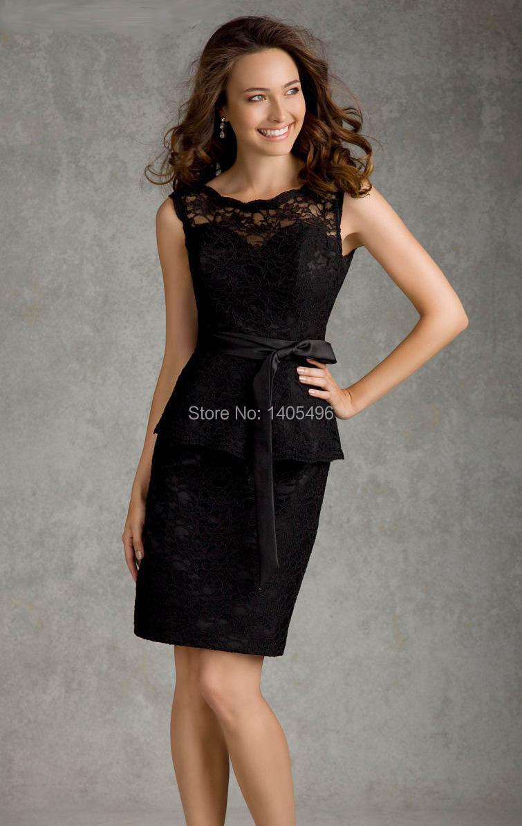 Short Black Dresses Cheap