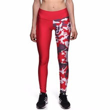 Buy NEW 0086 Sexy Girl Christmas Red camouflage Prints Slim High Waist Workout Fitness Women Leggings Pants Trousers Plus Size for $9.20 in AliExpress store