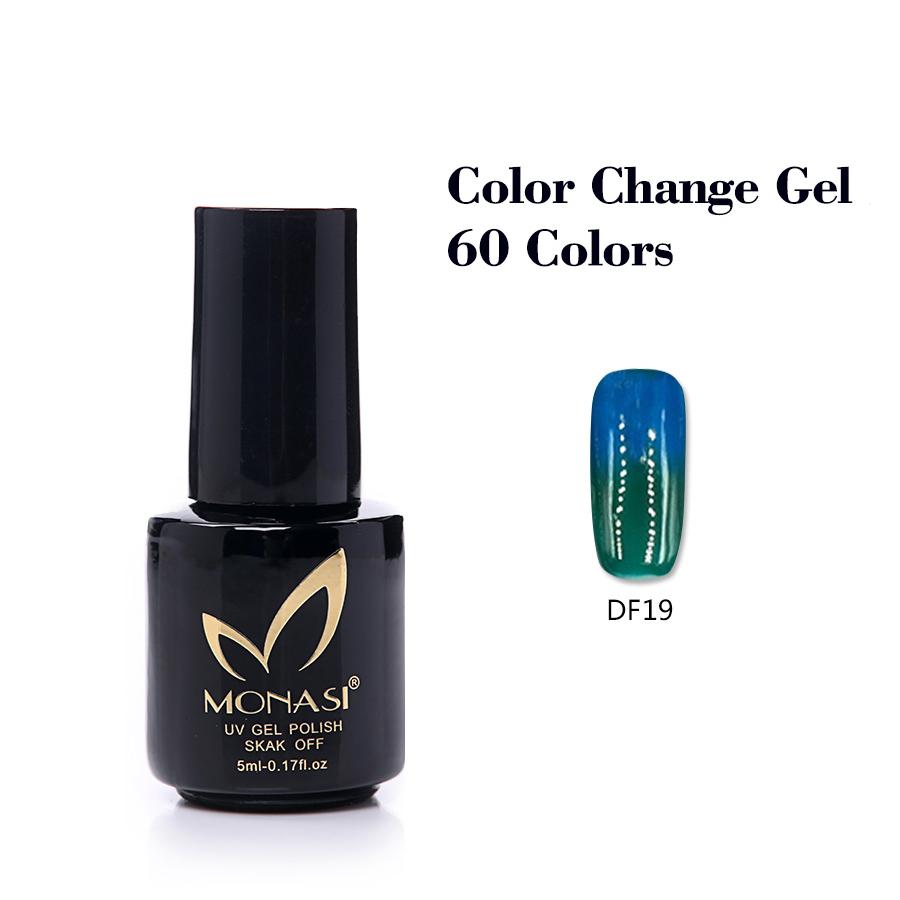 China factory new product fashion cheap manicure UV LED nail gel polish color change nail gel polish 5ml(DF19~DF36)(China (Mainland))