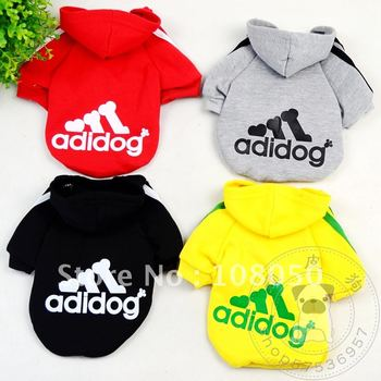Wholesale - Fashion pet dog clothes coat leisure clothing colorful pet dog apparel pet colthes 50pcs/lot