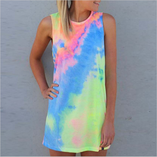 Tie Dye Tank Tops Womens Photo Album - Reikian