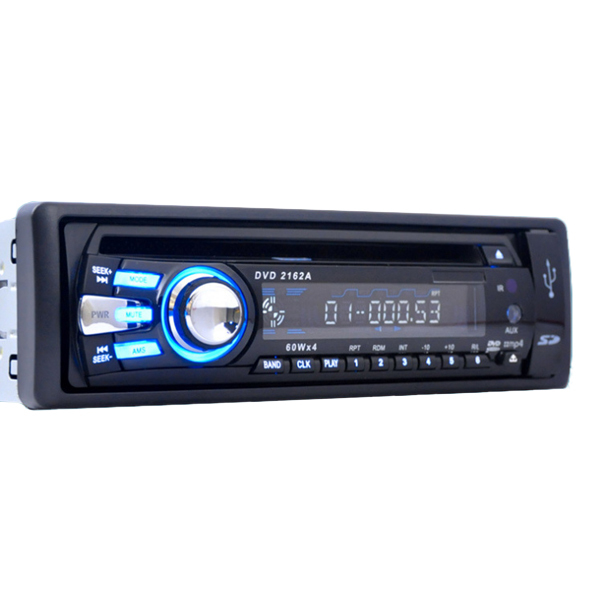 CAR One Din Detachable Front Panel CAR DVD/CD/MP3/USB/SD Card AM/FM PLAYER+AUX INPUT / Free Shipping / CAR DVD PLAYER/ 1din dvd(China (Mainland))
