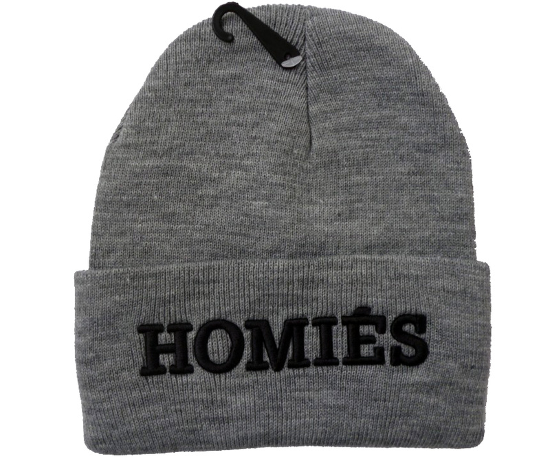 3 Colors New Arrival High Quality Homies Beanie Snapback Hats Football Skullies Wool Winter Warm Knitted
