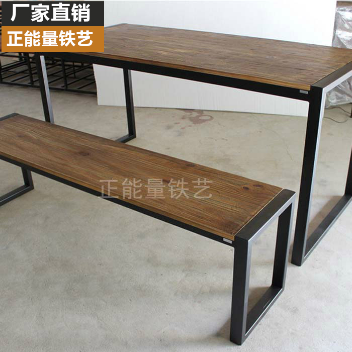 american retro tables wrought iron wood furniture