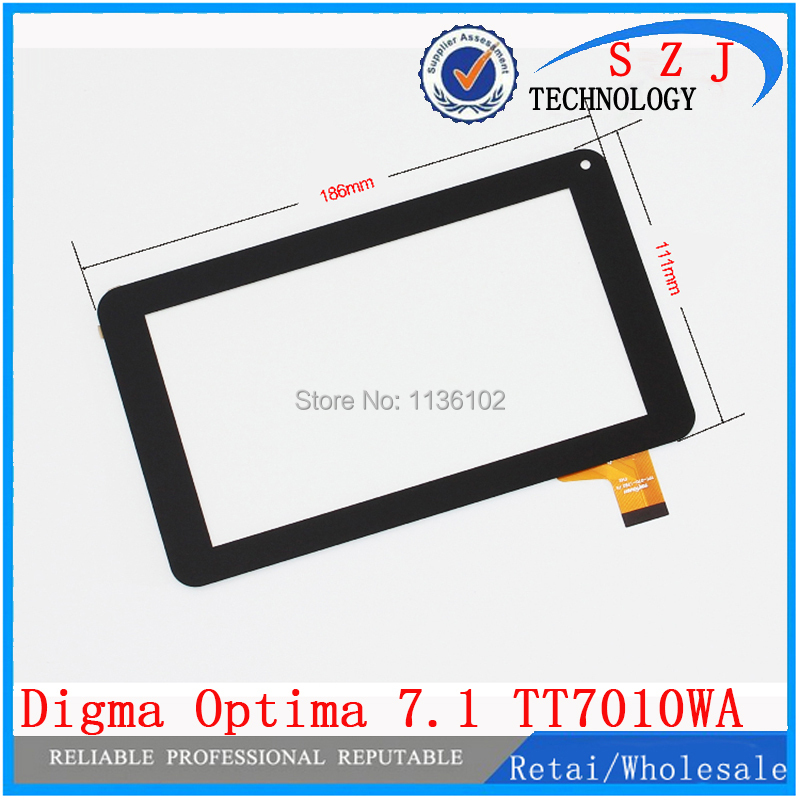 Original 7 inch Digma Optima 7.1 TT7010WA Tablet touch screen digitizer glass panel sensor replacement - ShenZhen John Communication Co.,Ltd store